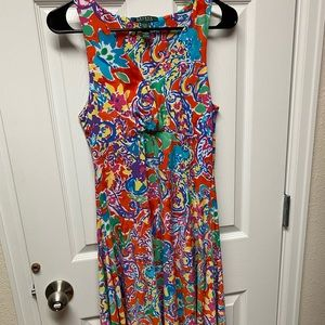 Ralph Lauren colorful dress